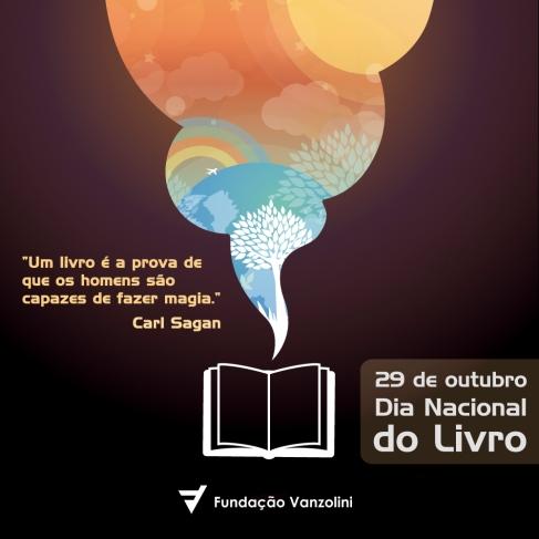 29 de outubro - Dia Nacional do Livro